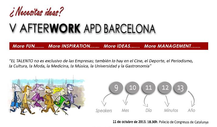 Risto Mejide, participa esta tarde en el APD Afterwork en el Palacio de Congresos deBarcelona.
