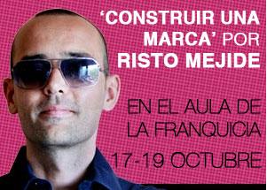 Risto Mejide, inaugura las conferencias del aula de la franquicias de SIF el 17 deOctubre.