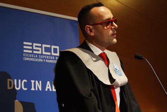 Risto Mejide investido Profesor HonorisCausa.