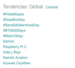 #PelisMiopes de Risto Mejide alcanza el 1er puesto como Trending TopicMundial.